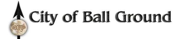 City of Ball Ground Georgia header image